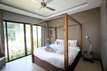 Second Bedroom with Garden and Pool View