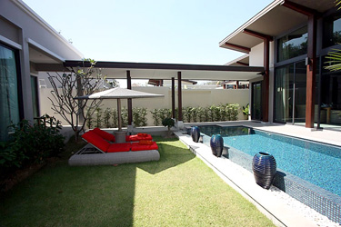 Garden, Pool and Terrace Area