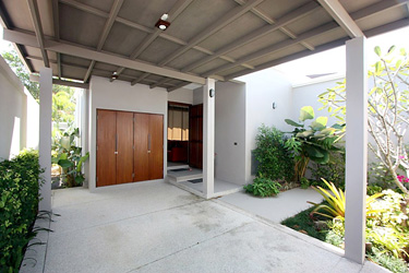 Entrance, Carport and Small Front Garden