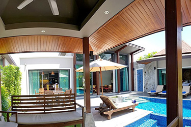 Sala, Pool, Terrace and Garden Area