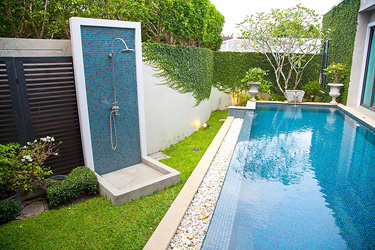 Pool and Small Garden