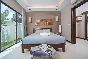 Master Bedroom with Garden and Pool View