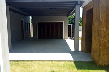 Carport, Storage, Laundry Room, Maid Room and Villa Entrance