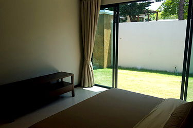Second Bedroom with Garden View