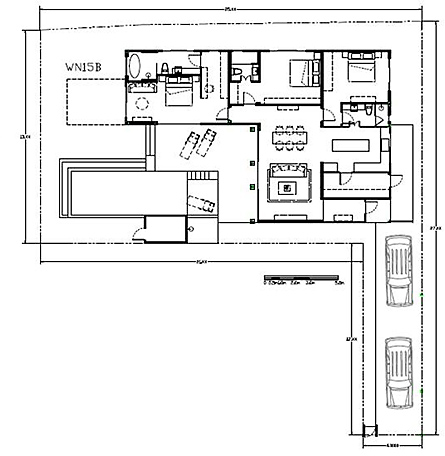 Villa Type D - Villa with 3 bedrooms